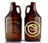 915 - CHUCO GROWLERS! Gold Reflective Print! - El Paso Apparel