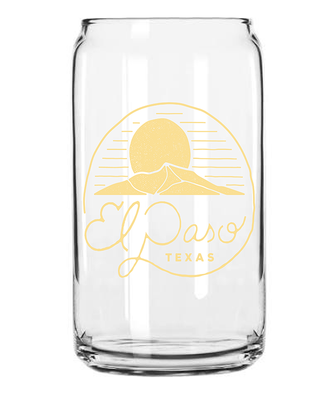 El Paso Glassware - Limited Edition - El Paso Craft Beer