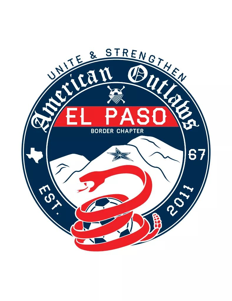 Stickers - American Outlaws - El Paso Apparel