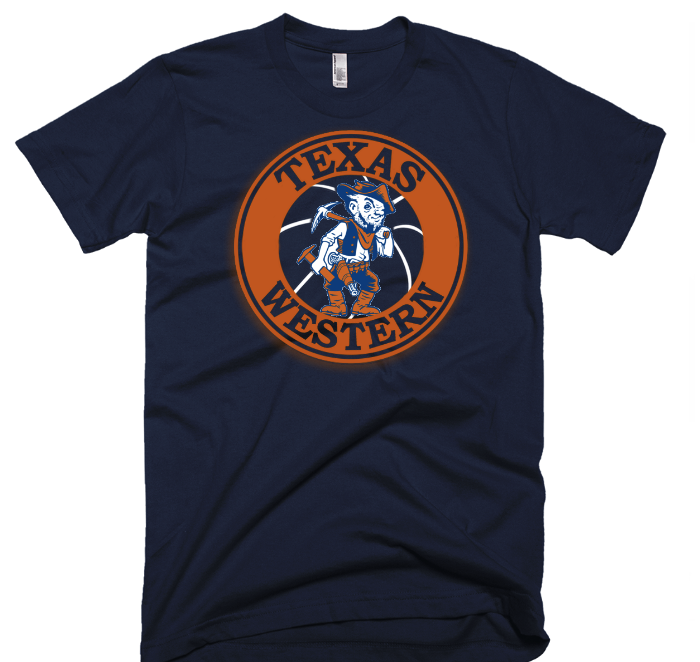 Texas Western  - UTEP -  Royal Blue T-Shirt - El Paso Apparel