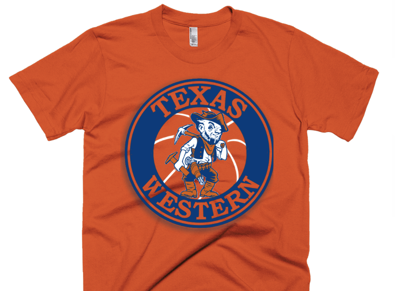 wholesale dealer c6a91 c797a Texas Western - UTEP - Orange T-Shirt