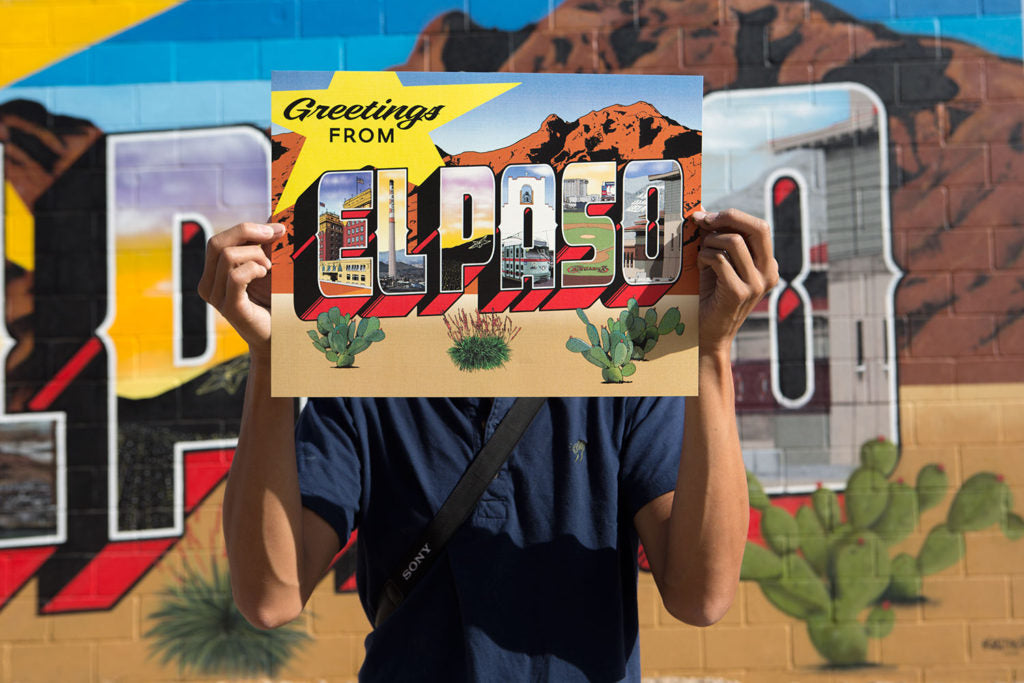 El Paso Texas Mural - By Greetings Tour - El Paso Apparel