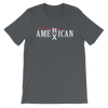 AMERICAN MEXICAN - Short-Sleeve Unisex T-Shirt - El Paso Apparel