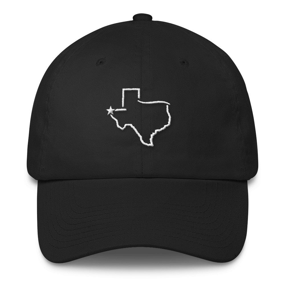 El Paso Texas - Embroidered Cotton Cap - El Paso Apparel