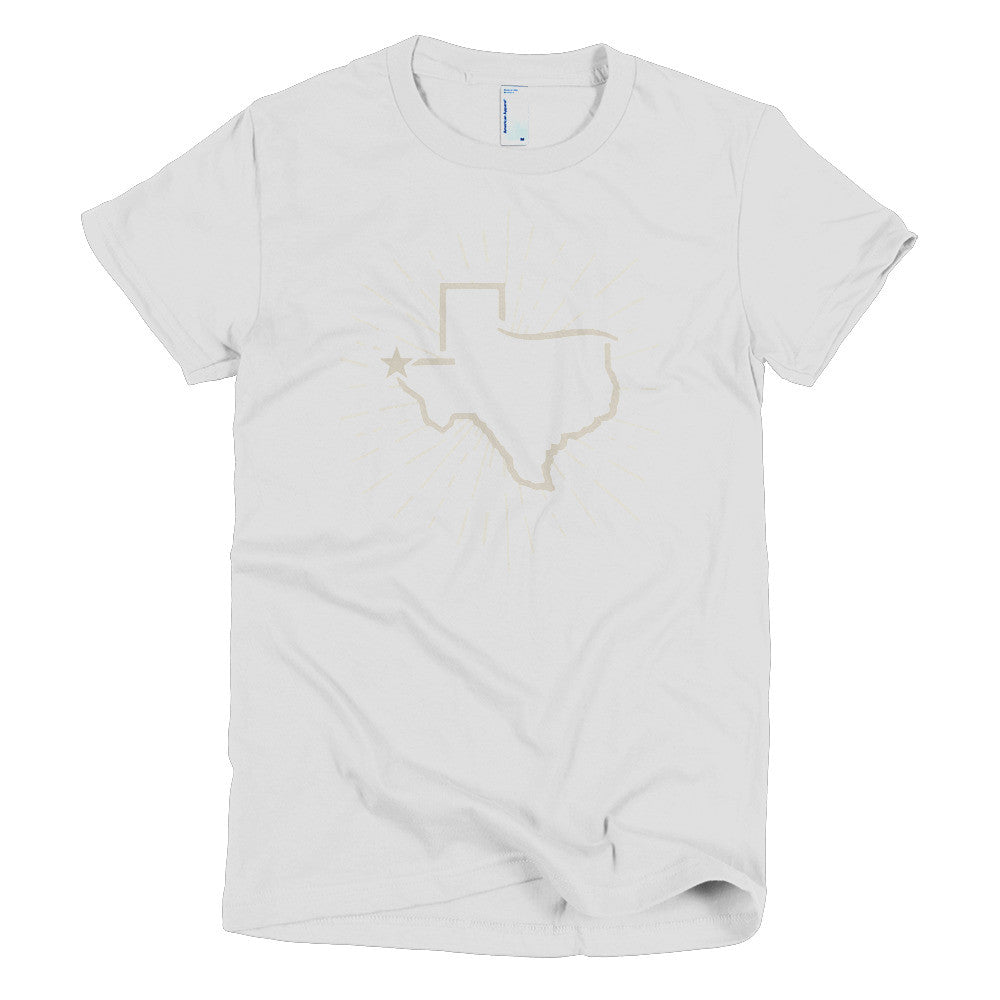 El Paso Sunburst - Short sleeve women's t-shirt - El Paso Apparel