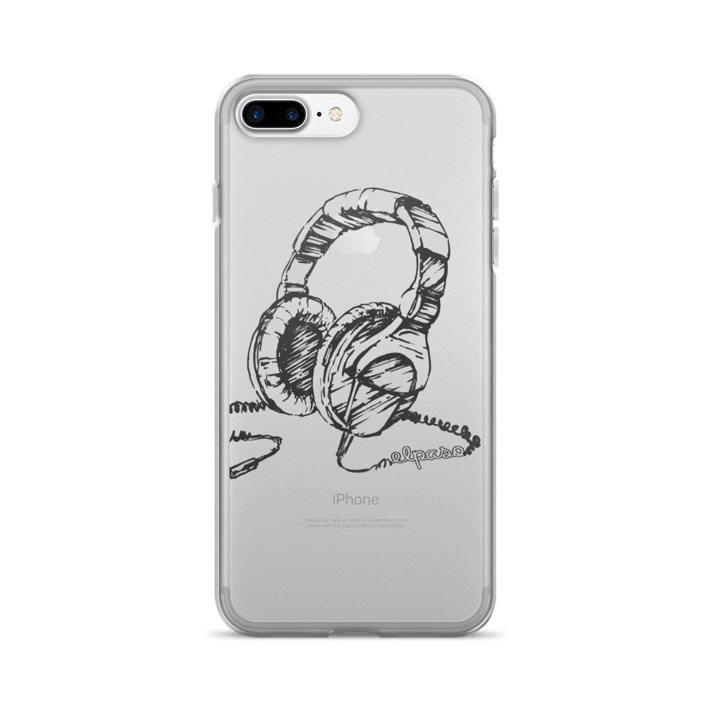 El Paso Headphone iPhone 7/7 Plus Case - El Paso Apparel