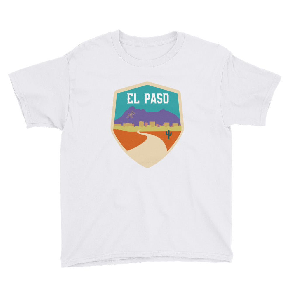 El Paso Badge - Youth Short Sleeve T-Shirt - El Paso Apparel