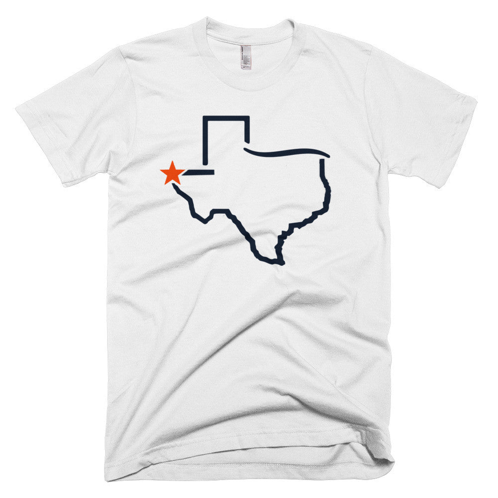 El Paso Star Short sleeve men's t-shirt - El Paso Apparel