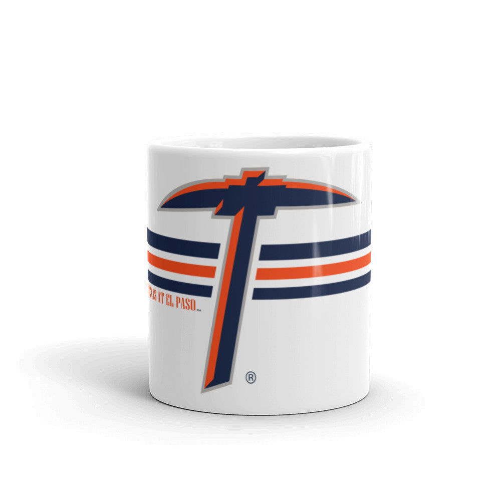UTEP Pick with Stripes - Mug - El Paso Apparel