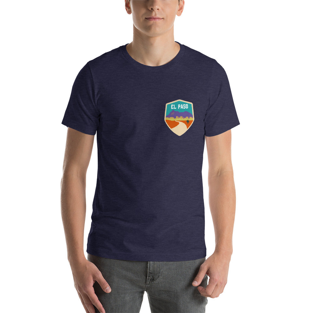 El Paso Badge - Short-Sleeve Unisex T-Shirt - El Paso Apparel