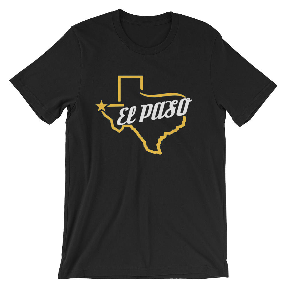 El Paso Texas NEW Short-Sleeve Unisex T-Shirt - El Paso Apparel