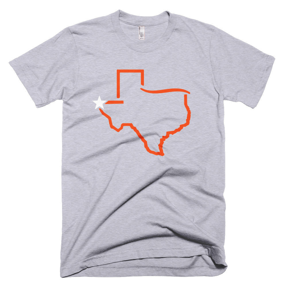 El Paso Texas - UTEP Colors - Short sleeve men's t-shirt - El Paso Apparel