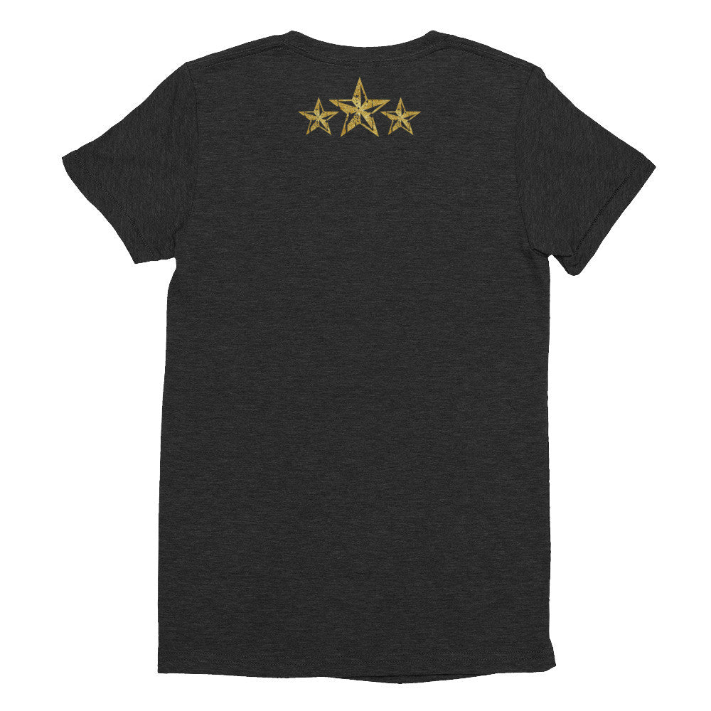 Nasty Women with Growth of Life Stars - Women's short sleeve soft t-shirt - El Paso Apparel