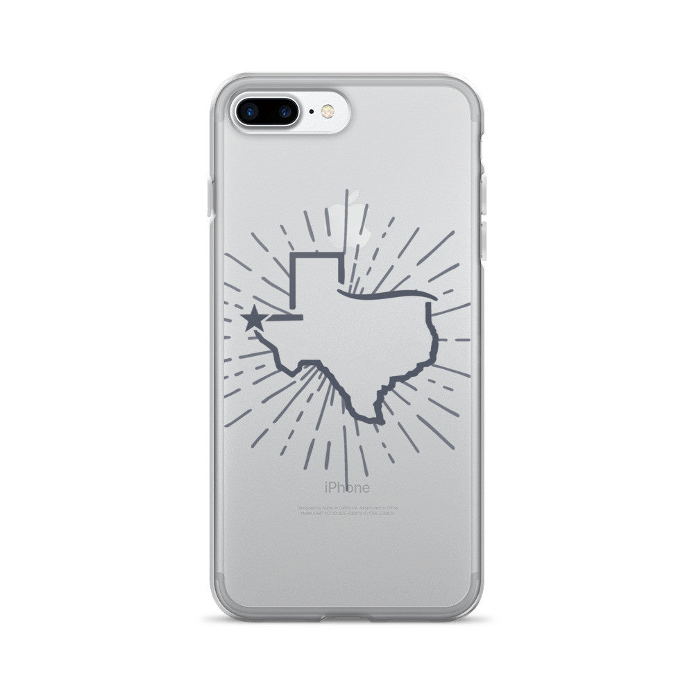 El Paso Star Burst iPhone 7/7 Plus Case - El Paso Apparel