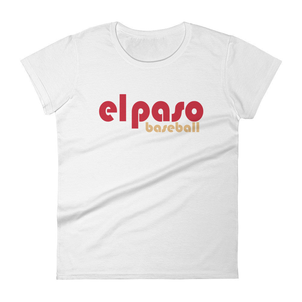 El Paso Baseball T Women's short sleeve t-shirt - El Paso Apparel