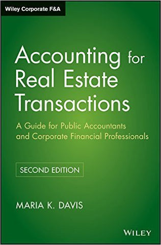 Products amcouture accounting for real estate transactions a guide for public accountants and corporate financial professiona fandeluxe Images