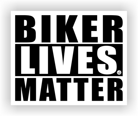 Biker Lives Matter Sticker