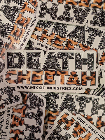 Death Cheetah Sticker