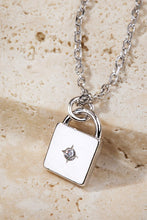 Mini Padlock Necklace