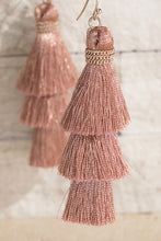 Tiered Tassel Earring [2 Colors}