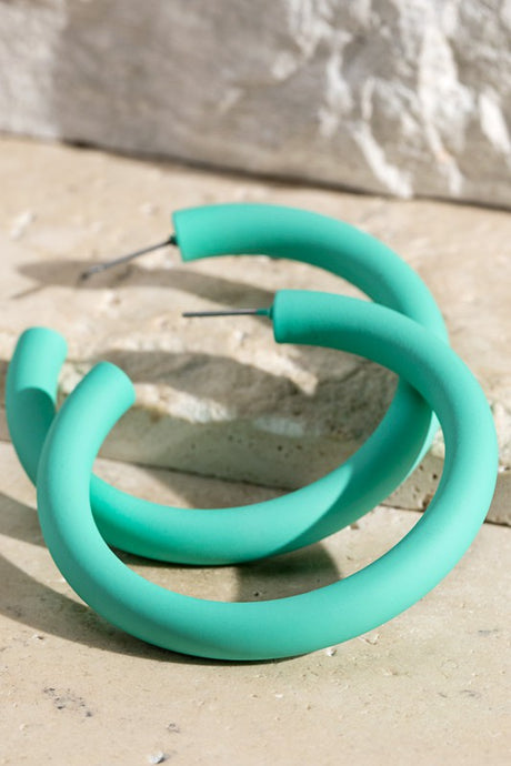 Mint Coated Tube Hoop