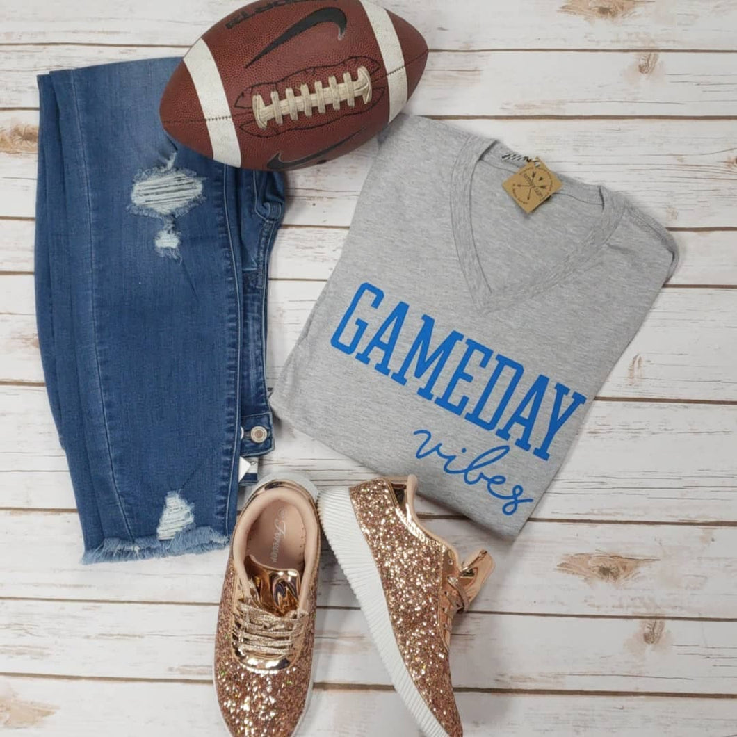 Gameday Vibes Blue Tee