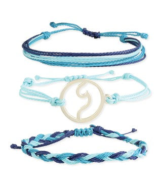 Beach Wave Bracelet Set
