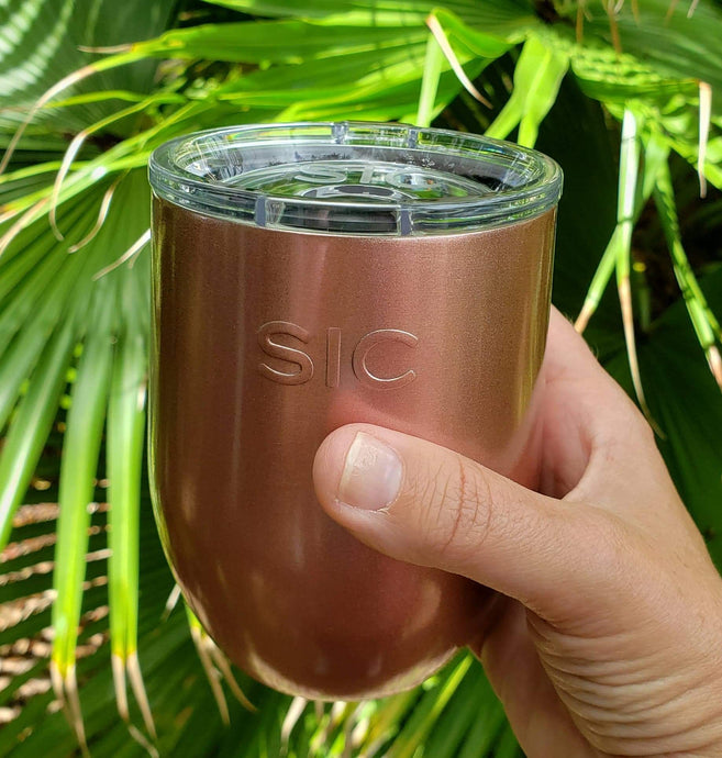 Stemless Wine SIC Cup [7 Colors]
