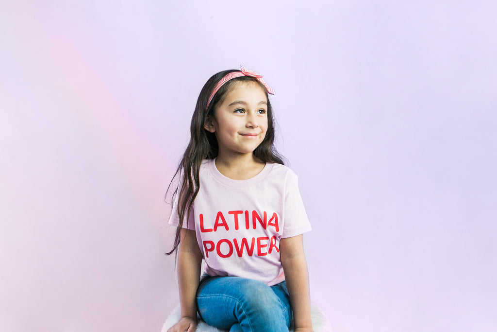 Woke Kids - Kids Latina Power - Latina babies - Latinx Kids - Outfits for Latina kids - Youth Outfits - Kids Casual Outfits - Kids Empowering Outfits