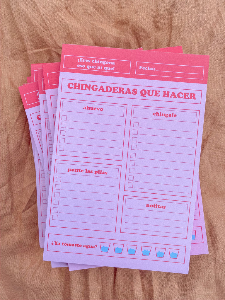 Chingaderas Que Hacer NotePad