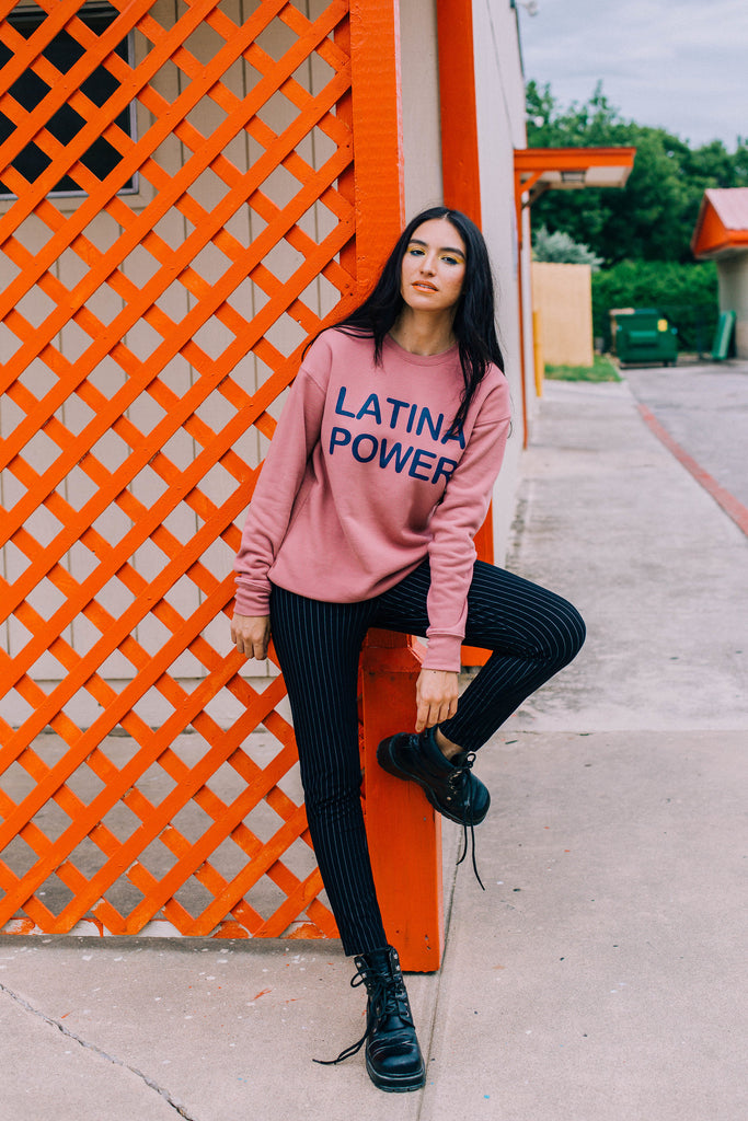 Latina Power Mauve Sweatshirt