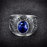 US Air Force Ring (White Gold Plated)