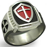 Knight Templar Crusader Cross Ring