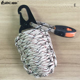 12 in 1 survival Military Paracord - Grenade Rescue & Survival Kit