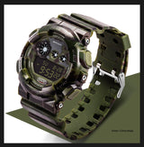Military Shock Resistant Camo Watch