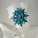 Blue Cameo Limited Run Earrings