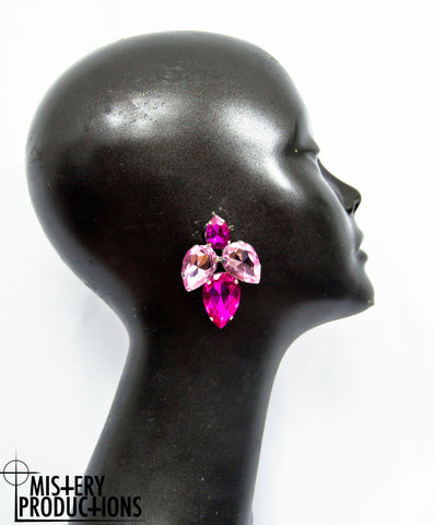Rose / Fuscia Earrings