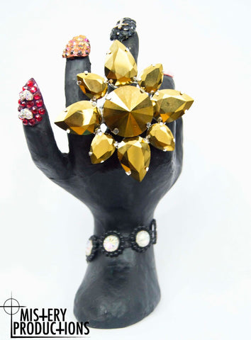 Mirror Gold Stretch Ring