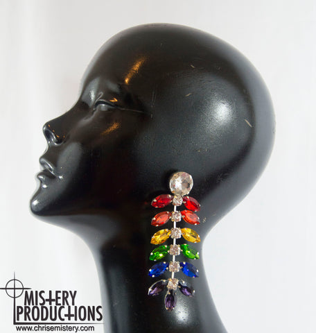 Pride Centipede Earrings