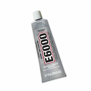 E600 Clear/Transparent Adhesive3.7 fl oz [109.4 mL]