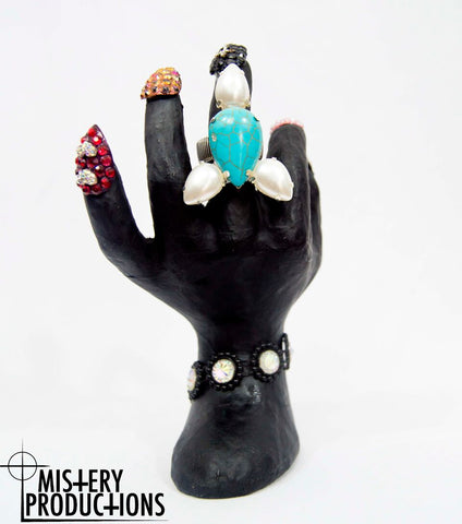 Small Turquoise Stretch Ring