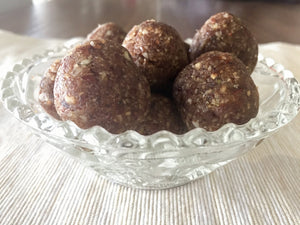 Coconut and Lime Bliss Balls