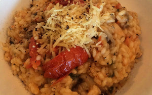 Chicken, Mushroom and Sundried Tomato Risotto