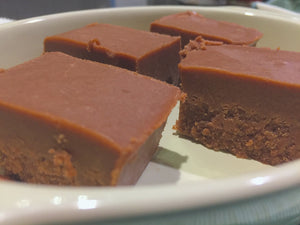 Tahini Chocolate Fudge - So tasty that it is hard to believe it is HEALTHY!