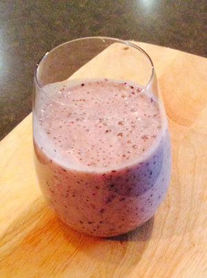Dairy Free Banana Berry Smoothie