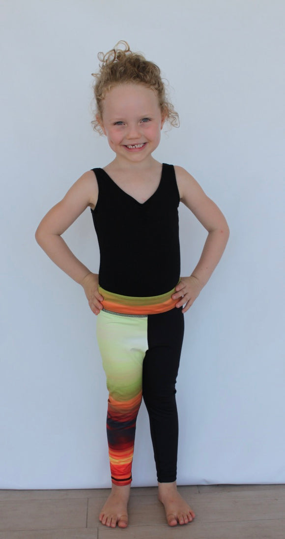 Harmony Inspired Kids - Sunset Girls Leggings