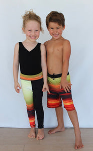 Harmony Inspired Kids - Sunset Boys Shorts