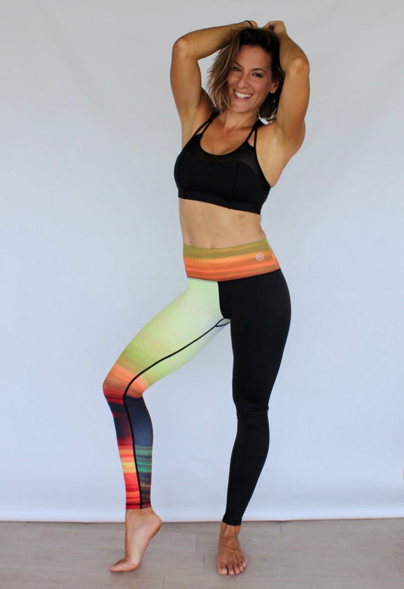 Harmony Inspired - Sunset Leggings