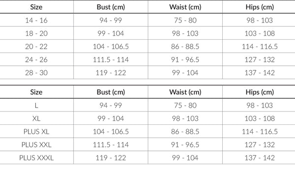 Fashion Nova Curve Size Chart Hear Us Roar Plus Size Cheap
