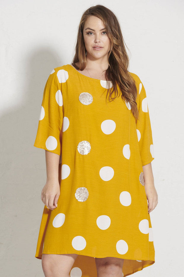 Dot Queen Merokok Dress